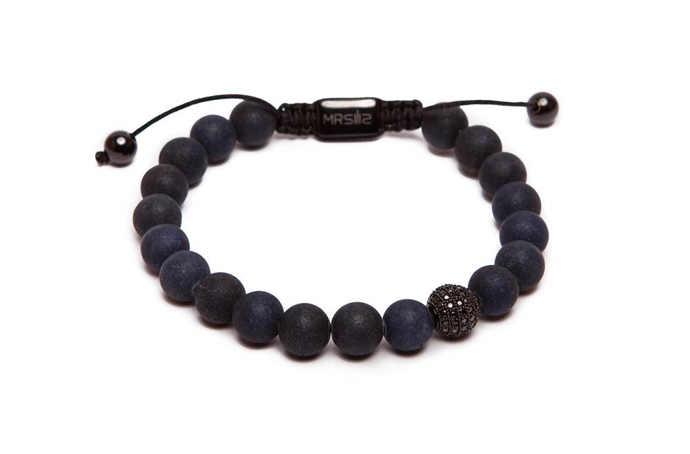 MR STONE | BLUE MATTE & BLACK CRYSTAL