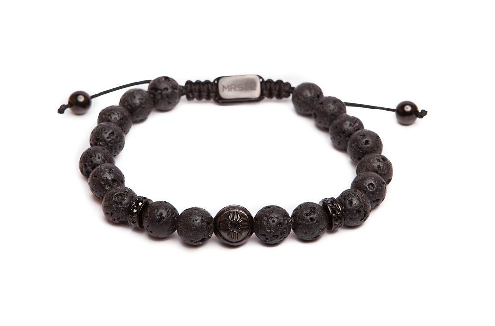 MR STONE | BLACK LAVA & BLACK CRYSTAL