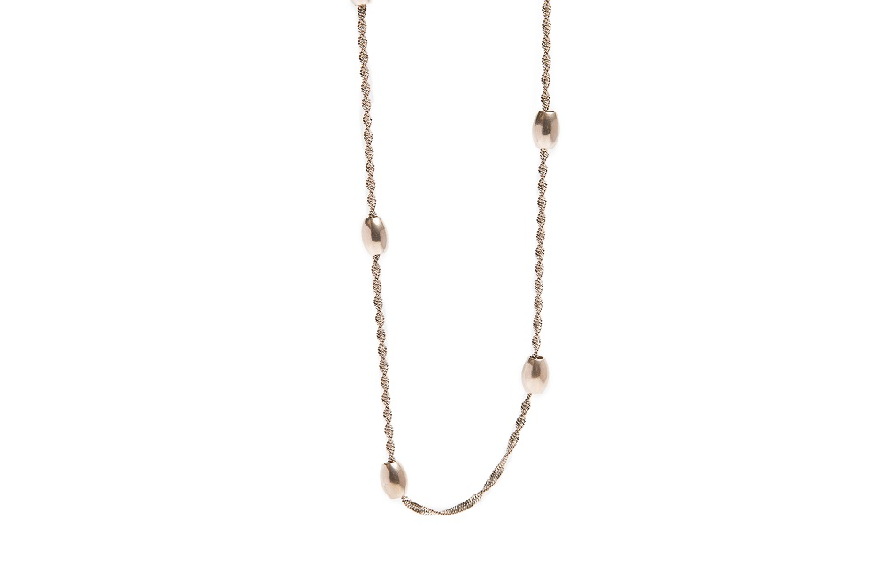 The Necklace Bean Rosé All Day | Silis Chain Necklace