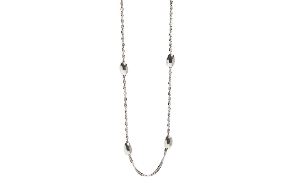 The Necklace Bean So Silver | Silis Chain Necklace