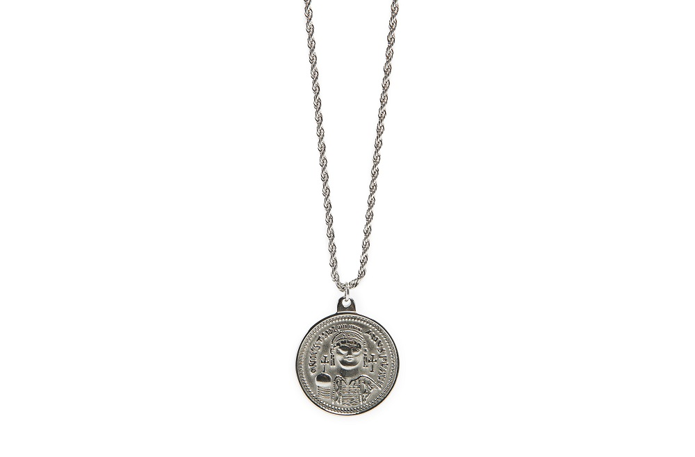 The Necklace Coin XL So Silver | Silis Coin Charm Necklace