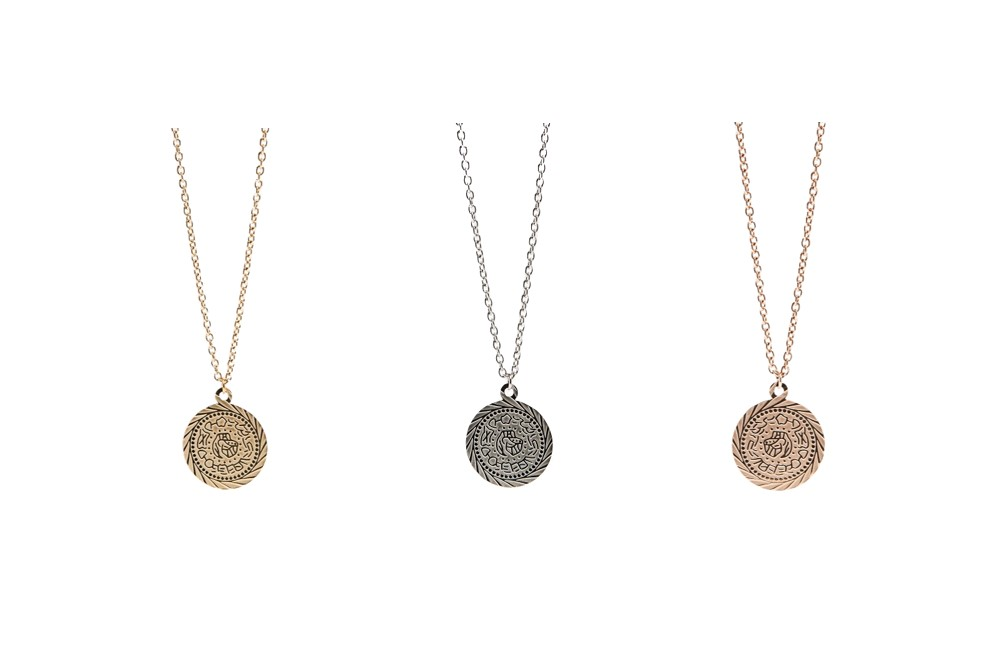 The Necklace Gypsy Coin So Silver | Silis Coin Charm Necklace