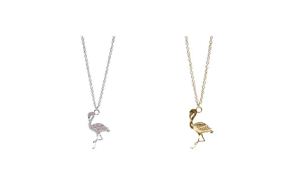 Necklace Flamingo | So Sliver | Silis Ketting