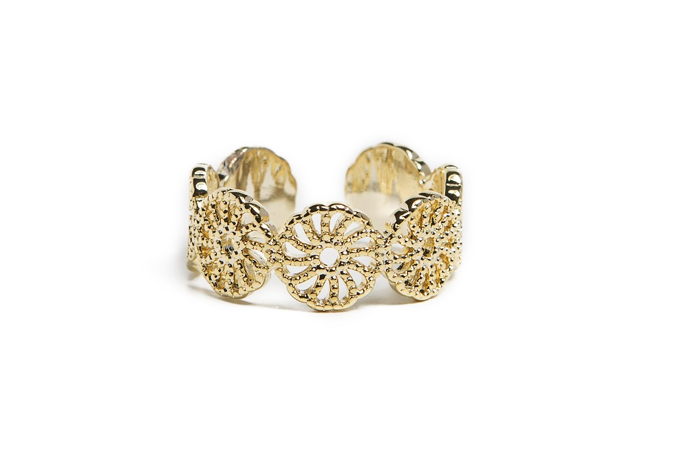 The Ring Gypsy Gold Out | Silis Statement Ring One Size