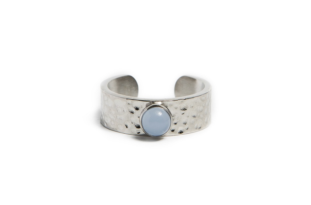 The Ring Gypsy Stud So Silver | Silis Stone Ring One Size