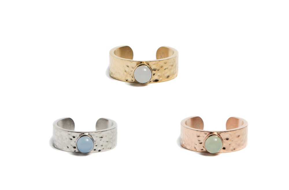 Ring Gypsy Stud | Rosé All Day | Silis Ring