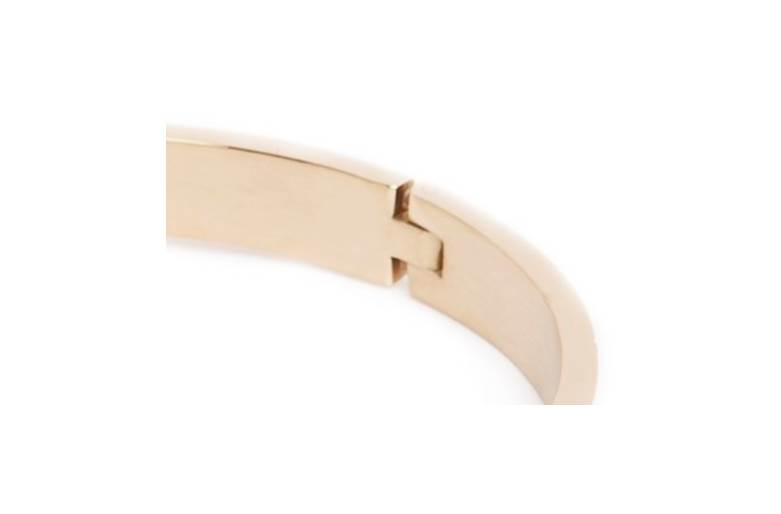 THE BANGLE CARRÉ   GOLD OUT