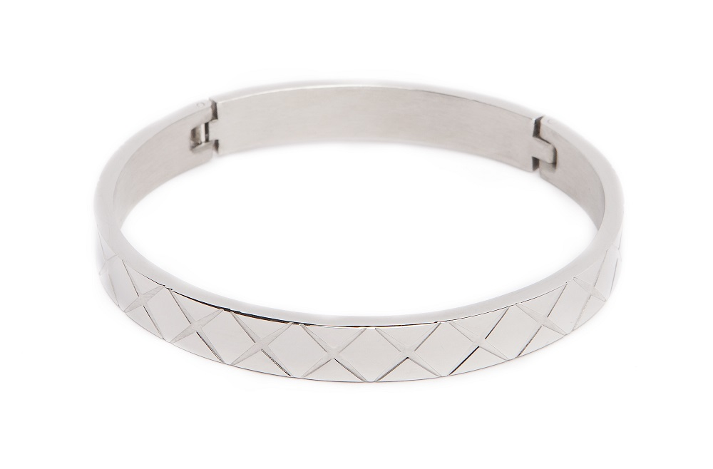 The Bangle Carré So Silver | Silis Bracelet