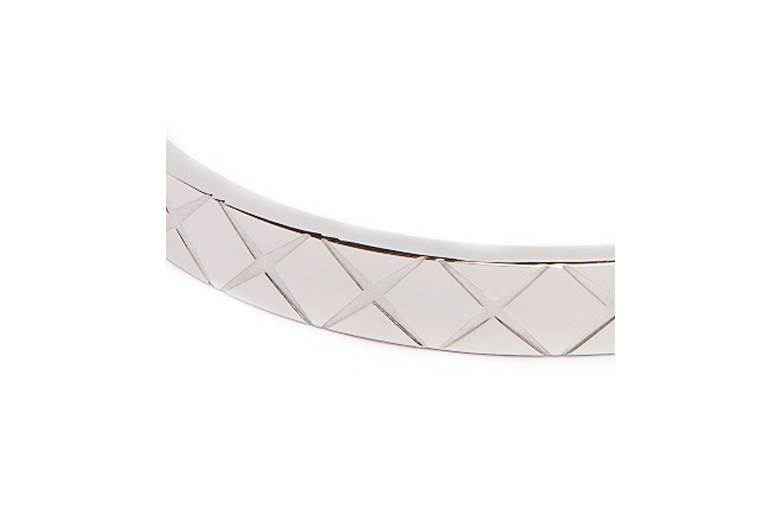 THE BANGLE CARRÉ | SO SILVER