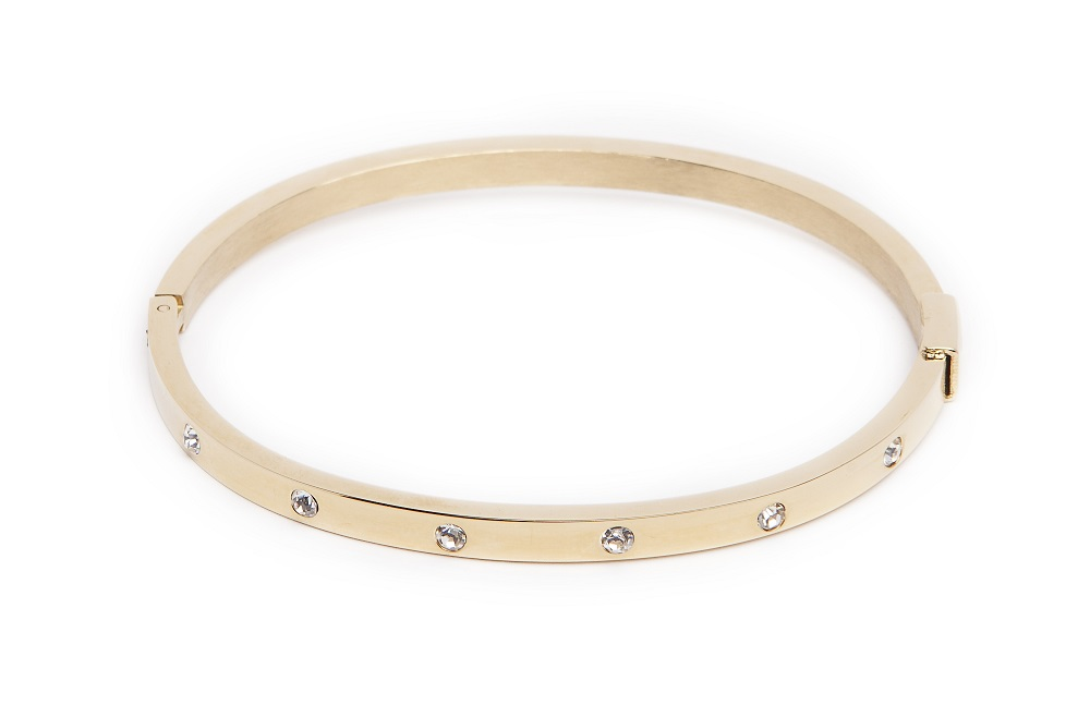 THE BANGLE CRYSTAL BRIDAL | GOLD OUT