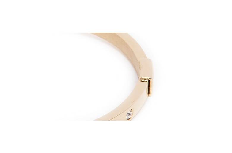 The Bangle Crystal Gold Out | Silis Bracelet