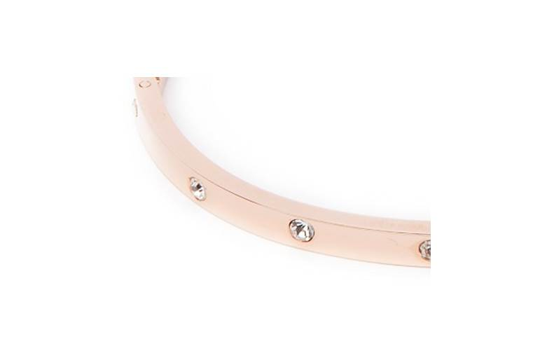 The Bangle Crystal Rosé All Day | Silis Bracelet