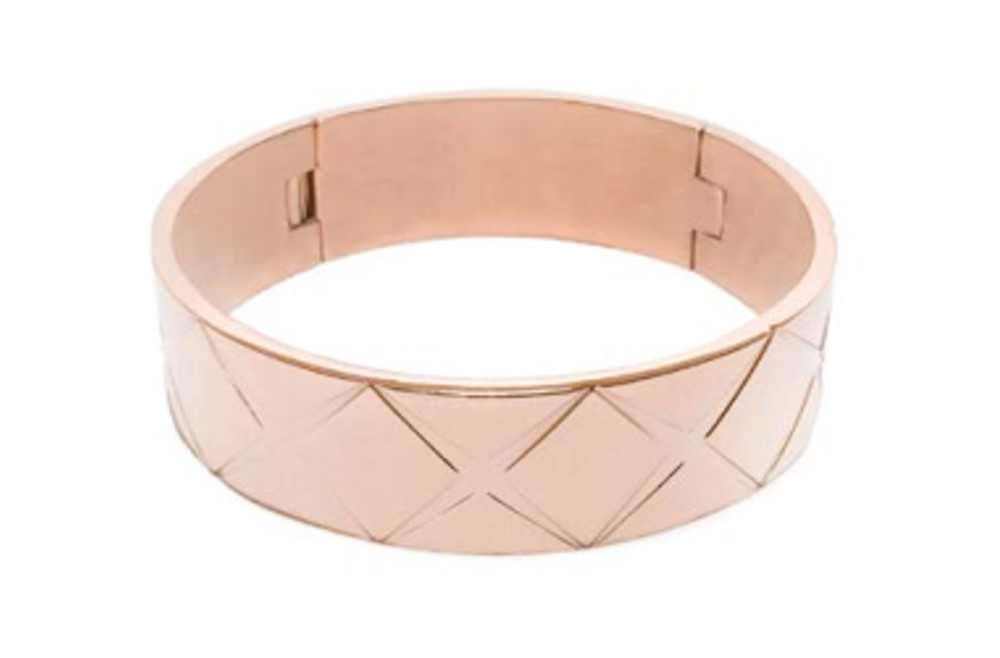 The Bangle XL Carré Rosé All Day | Silis Bracelet