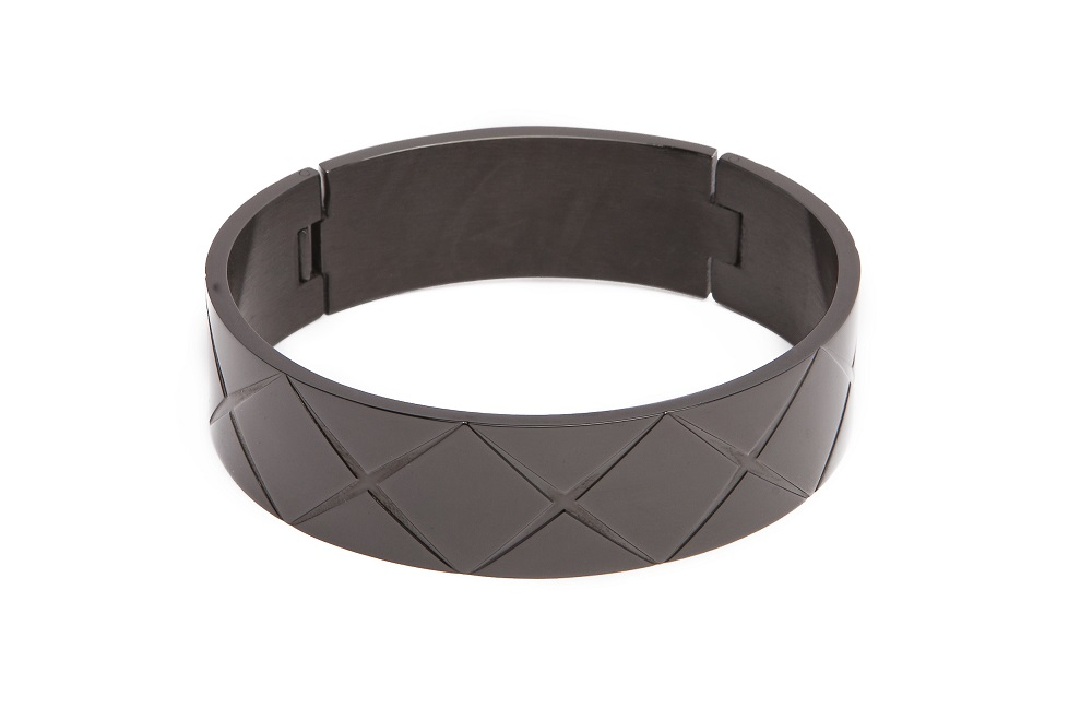 THE BANGLE XL CARRÉ | CLASSIC BLACK