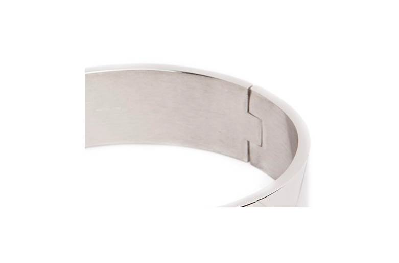 The Bangle XL Carré So Silver | Silis Bracelet