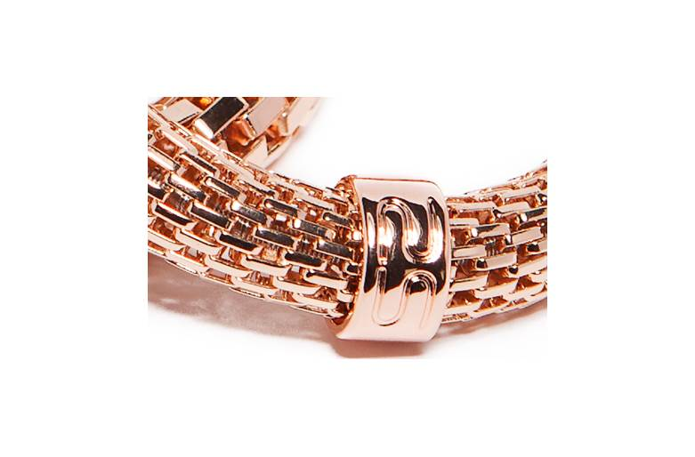 The Snake Metal Ø8mm Rosé All Day | Silis Bracelet