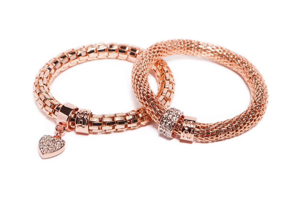 THE SNAKE METAL STRASS | ROSÉ ALL DAY & STRASS HEART