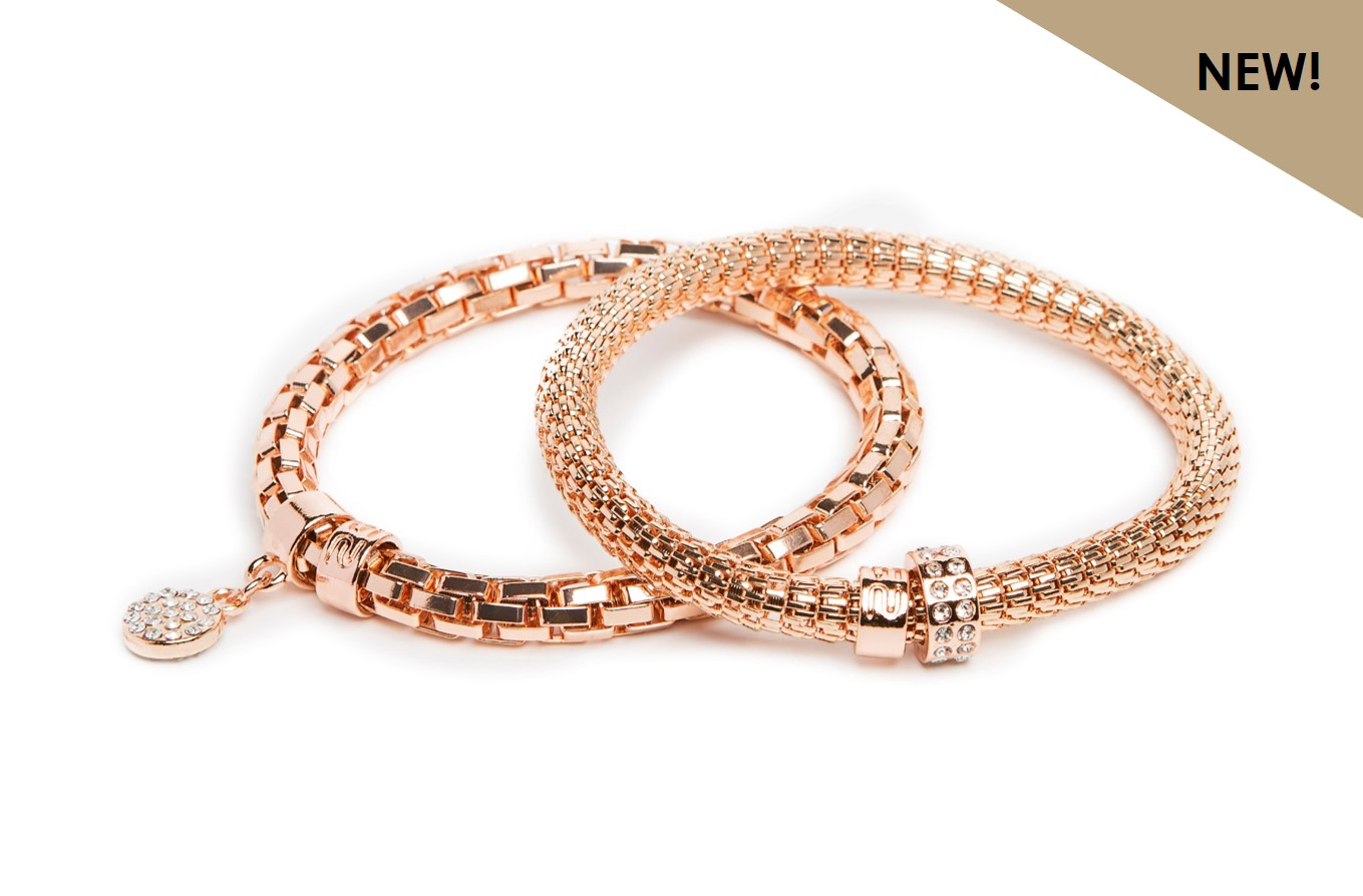 NEW Ø5.5MM THE SNAKE METAL STRASS | ROSÉ ALL DAY & STRASS HEART