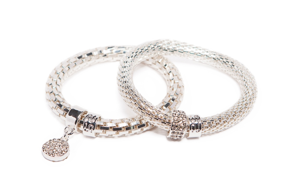 THE SNAKE METAL STRASS | SO SILVER & STRASS ROUND