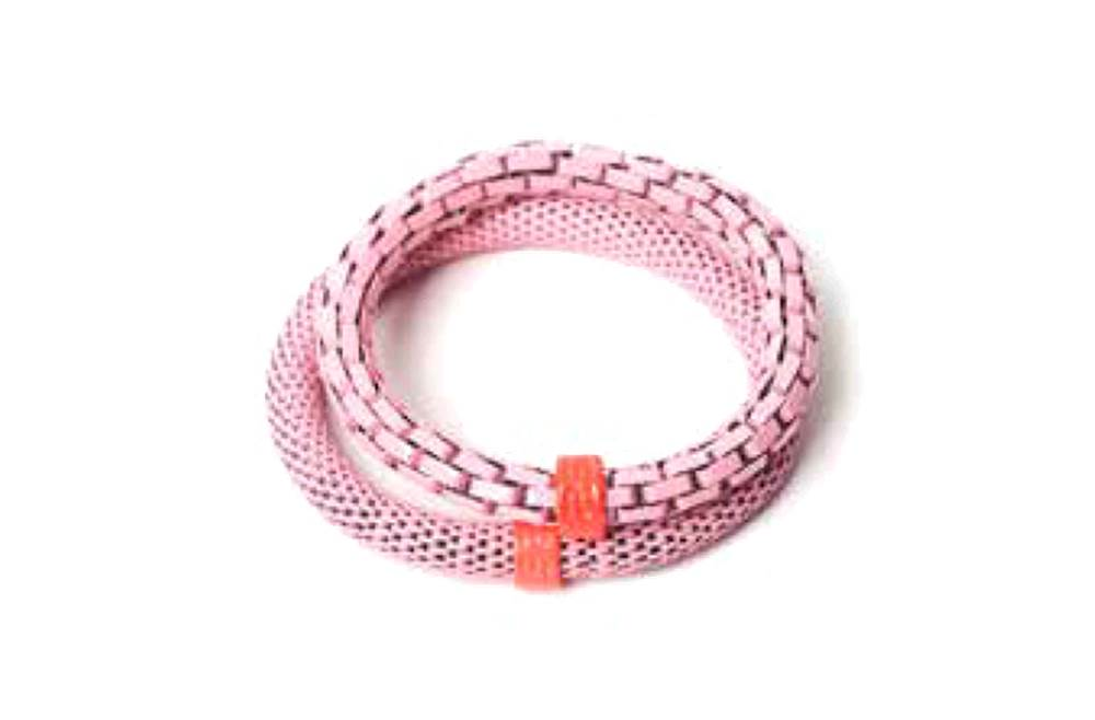 THE SNAKE MIX | SOFT PINK & ORANGE RING