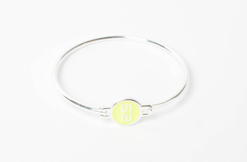 THE BANGLE | SILVER & YELLOW
