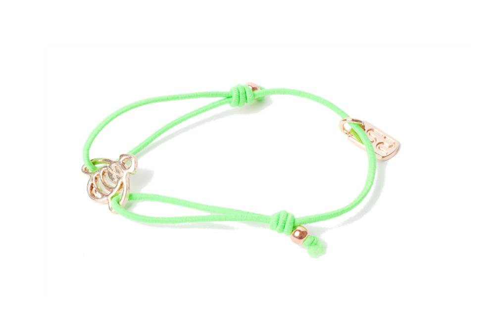 THE ELASTIC | FLUO GREEN & CHARM BEE
