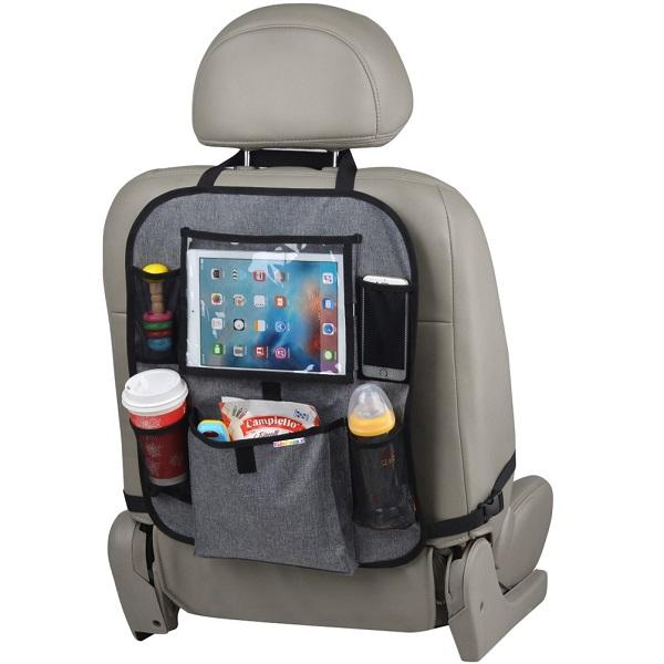 Auto organizer met tablethouder KidsPlaza.nl - Grijs