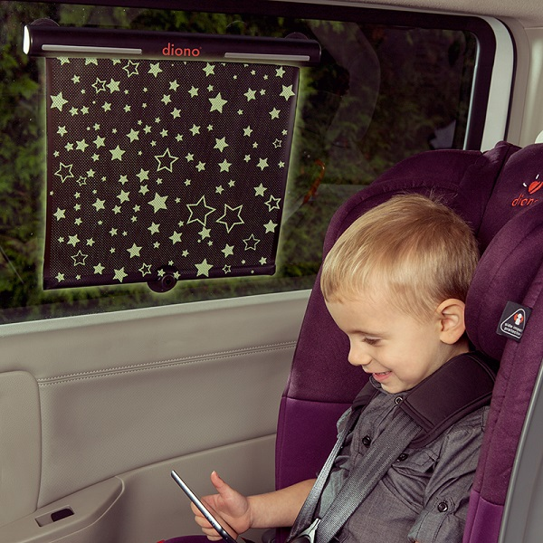 Zonnescherm auto - oprolbaar Diono Starry Night