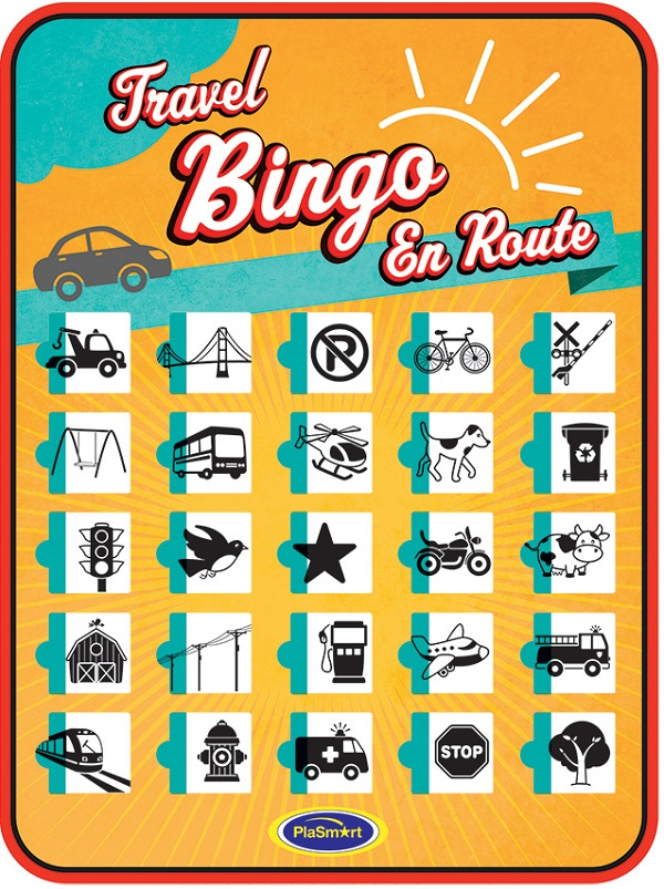Autobingo reisspel Travel Bingo