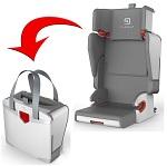 Autostoeltje groep 2/3, 15-36 kg 4-in-1 autostoel Purseat grijs