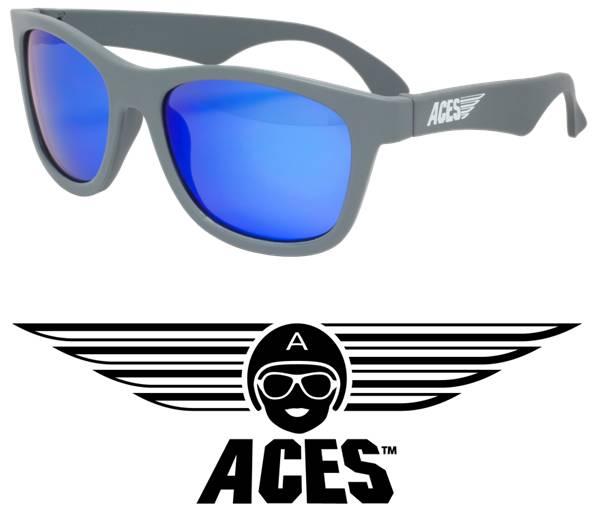 UV zonnebril Babiators Aces Navigator Grey - Blue Lenses
