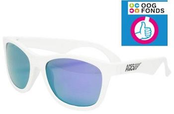 UV zonnebril Babiators Aces Navigator White - Purple Lenses