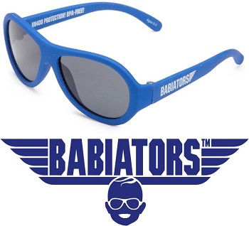 onbreekbare UV zonnebril Babiators Blue Angels Blue