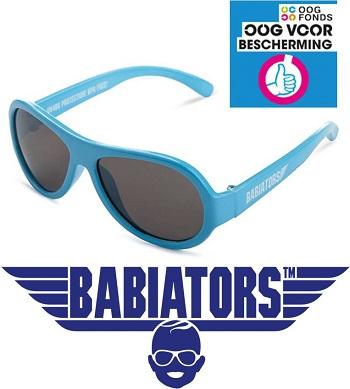 onbreekbare UV zonnebril Babiators Beach Baby Blue