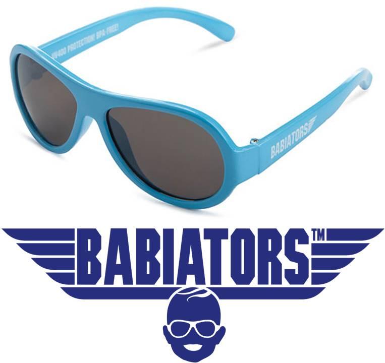 UV baby & kinder zonnebril Babiators Beach Baby Blue