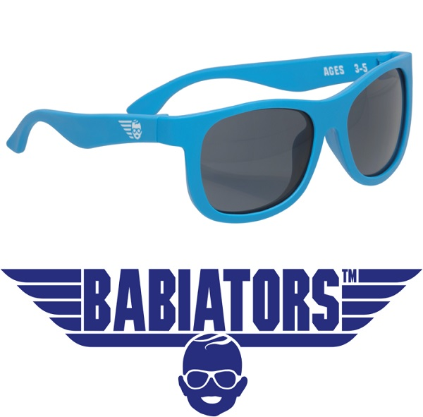onbreekbare UV zonnebrilbr/Babiators Blue Crush