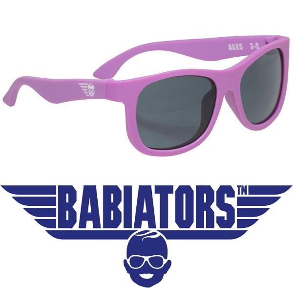 onbreekbare UV zonnebril Babiators Purple Reign