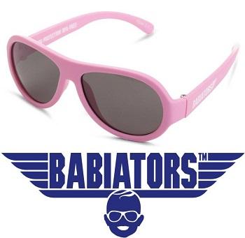 UV baby zonnebril Babiators Princess Pink