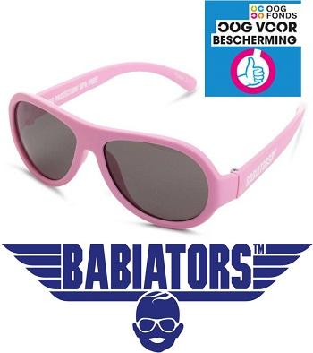onbreekbare UV zonnebril Babiators Princess Pink