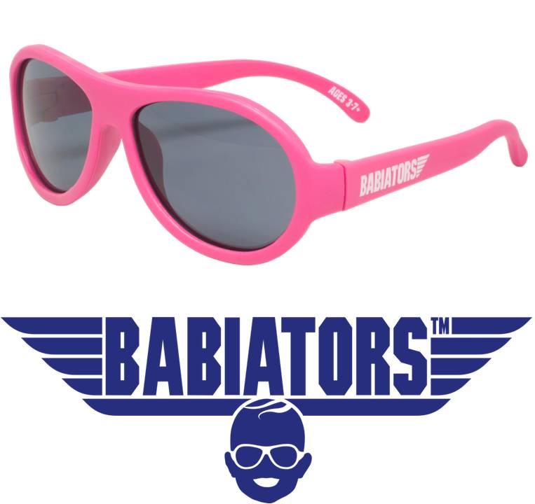onbreekbare (ski) zonnebril Babiators Popstar Pink