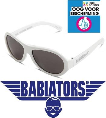onbreekbare UV zonnebril Babiators Wicked White