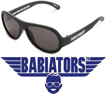 onbreekbare UV zonnebril Babiators Black Ops Black