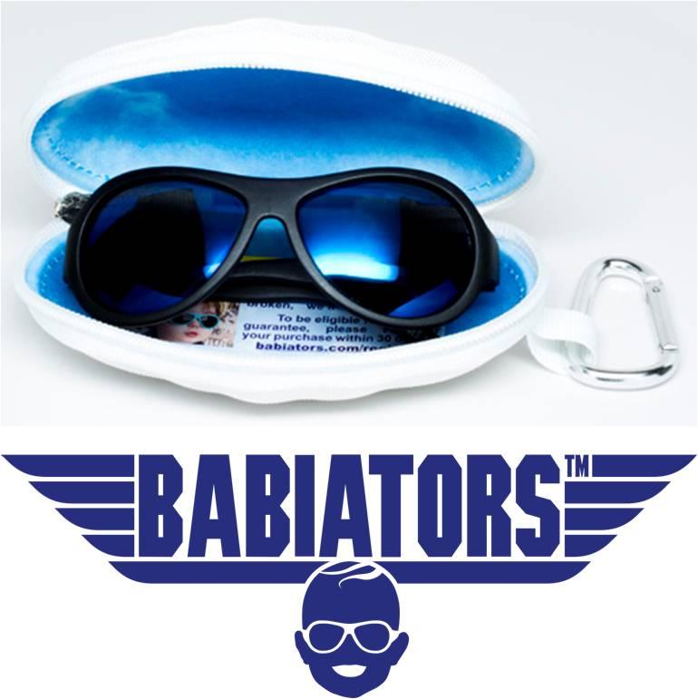 Polarized (ski) zonnebril Babiators Black Ops Black
