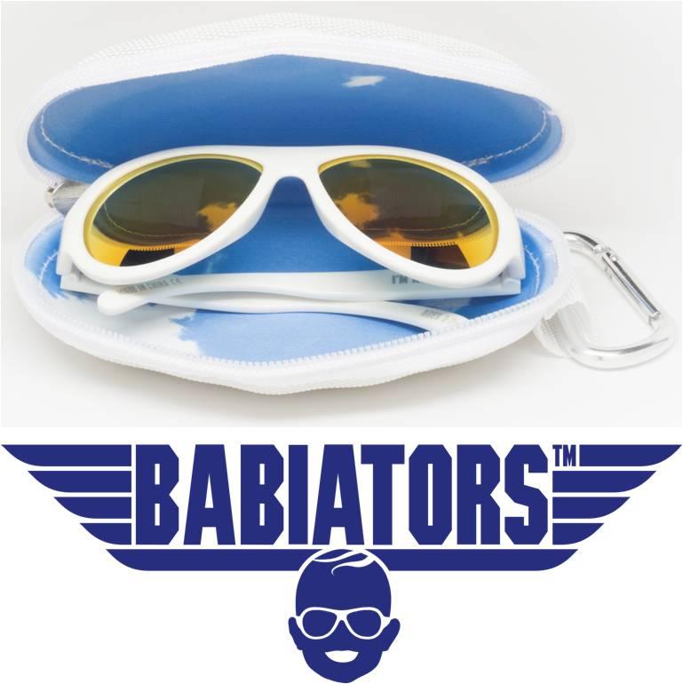 Polarized UV zonnebril Babiators Wicked White