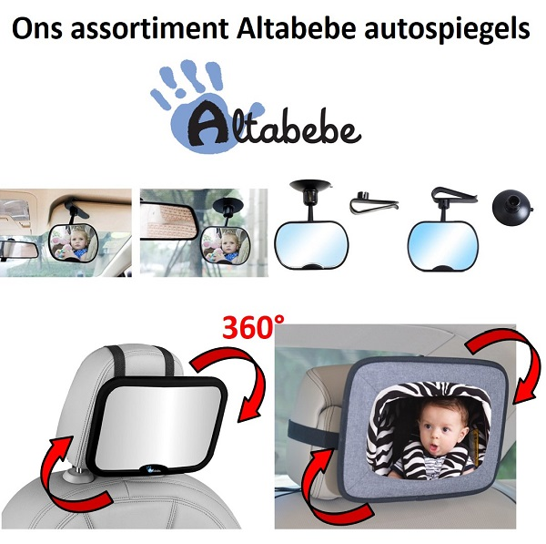 Autospiegel baby & kind Altabebe