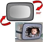 Autospiegel baby & kind met grijze rand - Altabebe
