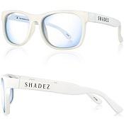 Beeldschermbril volwassene Shadez - Blue Light - Wit