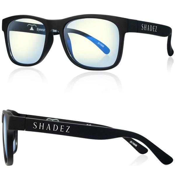 Beeldschermbril volwassenen Shadez - Blue Light - Zwart