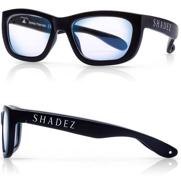 Beeldschermbril voor kinderen Shadez - Blue Light - Zwart