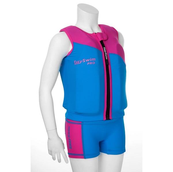 Drijfpakje 2-delig EasySwim Pro roze
